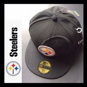 BNWT STEELERS New Era 59FIFTY Fitted Hat